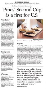 Pines' Second Cup is a first for U.S (2)